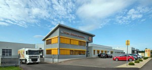 Firmengelände der THOKS GmbH in Waltershausen